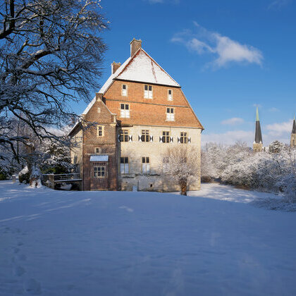 Kolvenburg im Winter